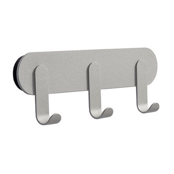 Magnuson Coat Hook Rail NINO-H25 - Metallic Grey