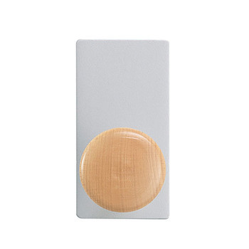 Magnuson Magnetic Coat Hook - OLEA-MA-B Image used to display front angle.