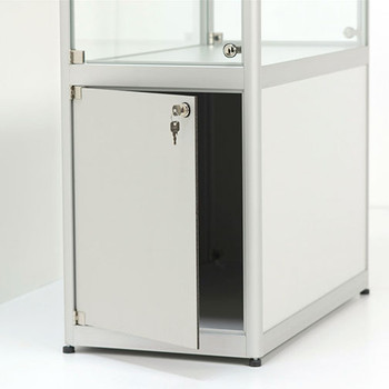 Magnuson Pictor Display Case with Locking Storage - Detail