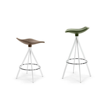 Magnuson Ginlet Stools - Left to Right: Counter Height, Bar Height
