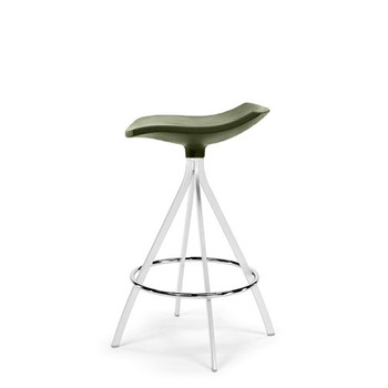 Magnuson Ginlet Counter Stool in Olive Green