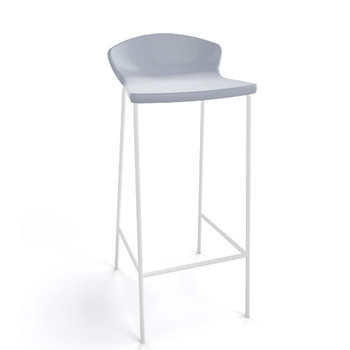 Magnuson Calma SO Grey Stacking Bar Stool