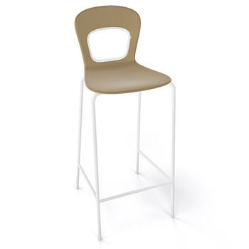 Magnuson Rivista SO Turtledove Stacking Bar Stool - Outdoor