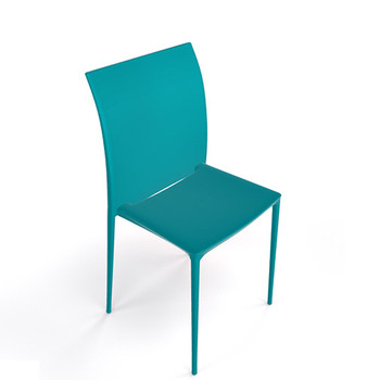 Magnuson Lucido Teal Stacking Chair
