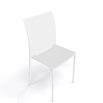 Magnuson Lucido White Stacking Chair
