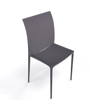 Magnuson Lucido Dark Grey Outdoor Stacking Chair