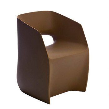Magnuson Om Basic Brown Chair - Side Angle