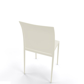 Magnuson Lucido SO Beige Stacking Chair - Back