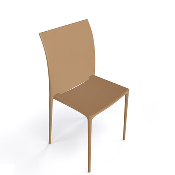 Magnuson Lucido SO Light Brown Stacking Chair