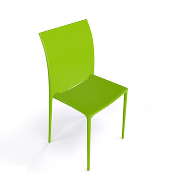 Magnuson Lucido SO Green Stacking Chair