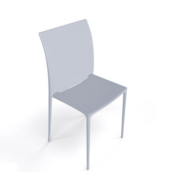Magnuson Lucido SO Pearl Grey Stacking Chair