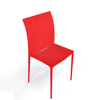 Magnuson Lucido SO Red Stacking Chair