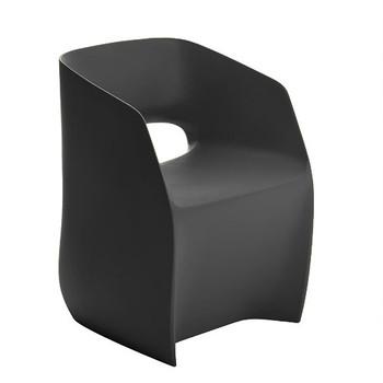 Magnuson Om Basic Grey Chair - Side Angle