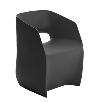 Magnuson Om Basic Grey Chair - Side Angle