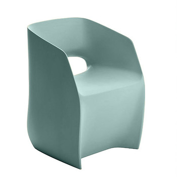 Magnuson Om Basic Light Blue Chair - Side Angle