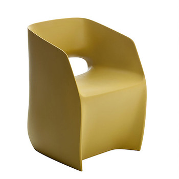 Magnuson Om Basic Pistachio Chair - Side Angle