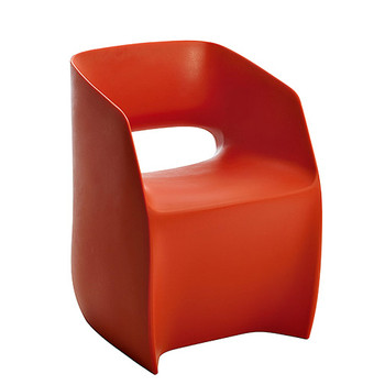 Magnuson Om Basic Red Chair - Side Angle