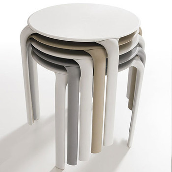 Magnuson Stilla Round Table - Stacked