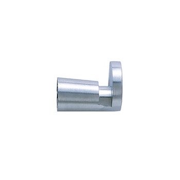 Magnuson K50C Coat Knob in BC Brushed Chrome - Back Mount Only - Side View
