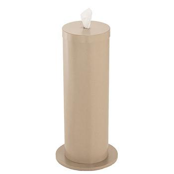Glaro Antibacterial Wipe Dispenser F1027DS - Floor Standing with Wipe Storage - Finished in Desert Stone