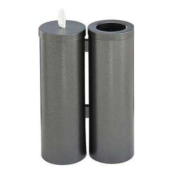 Glaro Antibacterial Wipe Dispenser Station - WD1030SV - Silver Vein