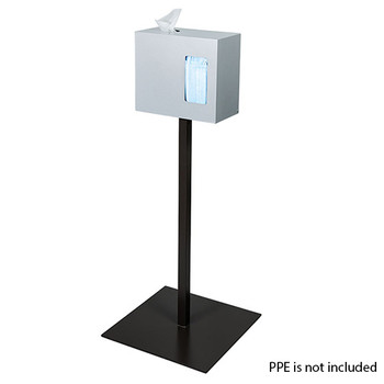 Peter Pepper ICF-3-QS Sanitation Station - Quick Ship - Freestanding