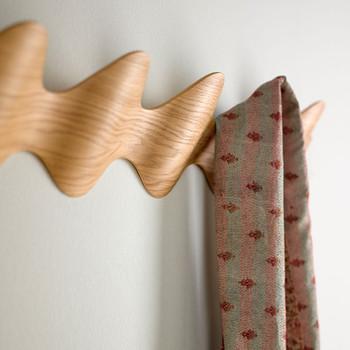 Magnuson Ona Coat Rack Detail - Oak Finish