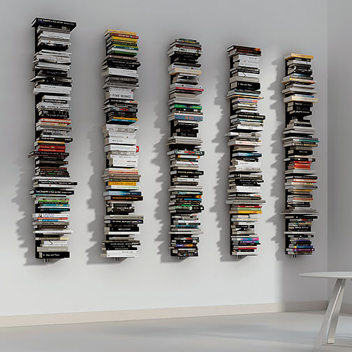 Magnuson Usio-W Vertical Book Shelves - Fully Loaded