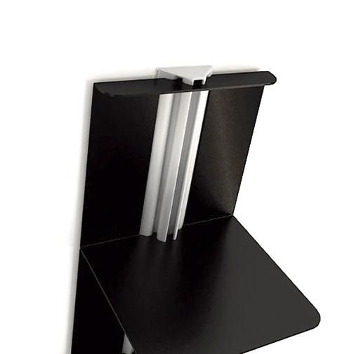 Magnuson Usio Vertical Book Shelf Assembled Detail