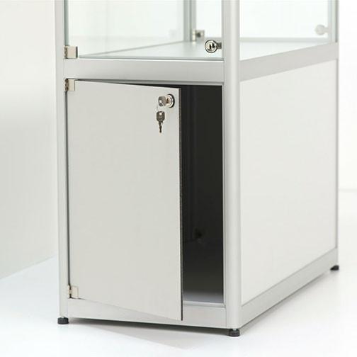 Magnuson Pictor Display Case with Locking Storage - Detail