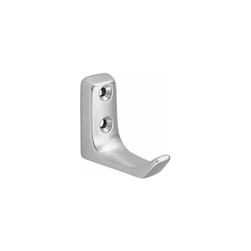 Peter Pepper 2070-AL Coat Hook - Aluminum - Single Prong