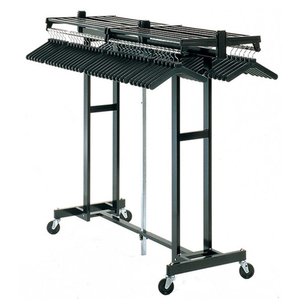 Magnuson Mega Rak MR611H - Folding Rolling Coat Rack