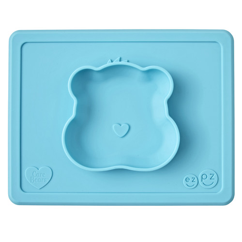Dimensions: 23 x 18 x 2.5cm Portion sized at 170g Packaged in a reusable bag that is EZPZ to pop in your diaper bag