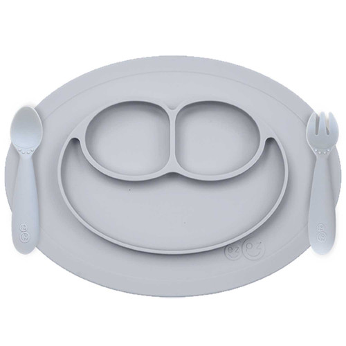 Mini Feeding Set Pewter