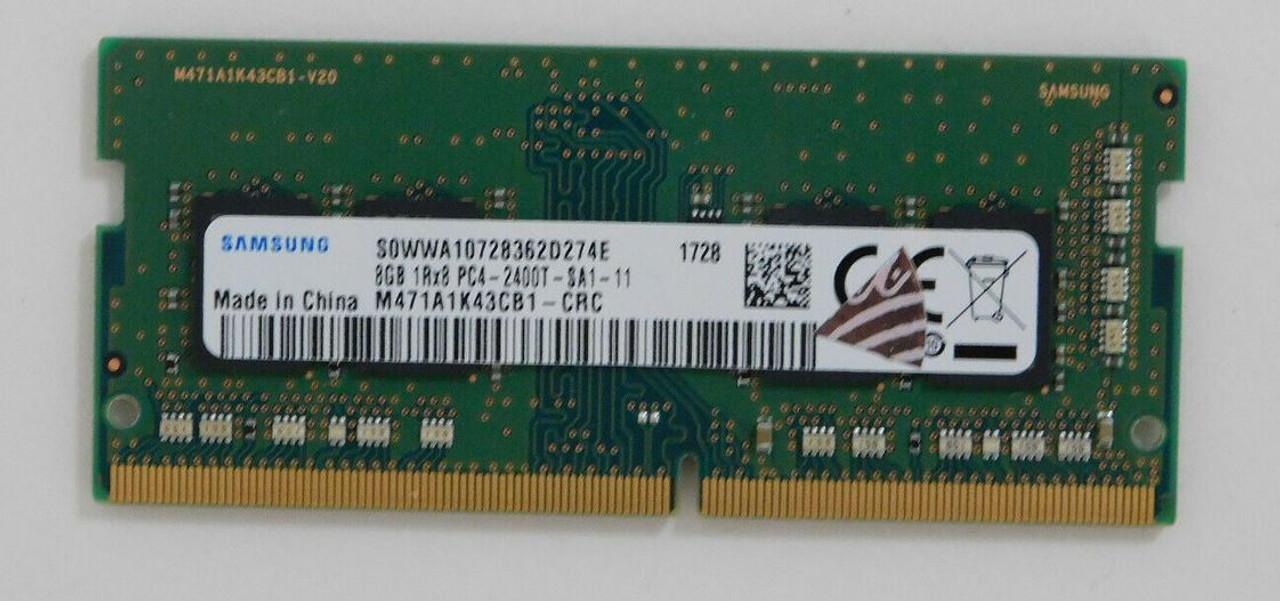 SAMSUNG 8GB1Rx8 PC4-2400T RAM MEMORY M471A1K43CB1-CRC