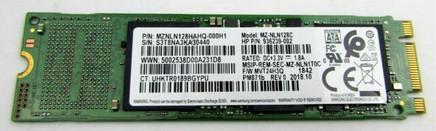 HP 128GB M.2 2280 SATA PM871b SS TLC - 936239-002