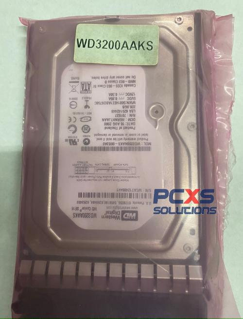 HP 320GB HARD DRIVE - WD3200AAKS