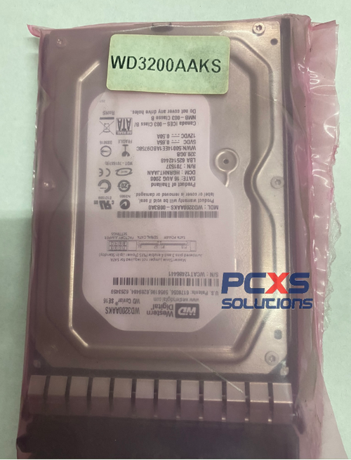 HP 320GB HARD DRIVE - WD3200AAKS