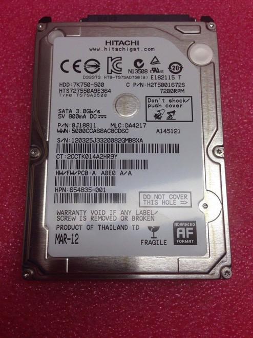 654535-001 hard drive