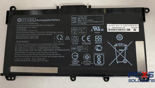 HP 11.55v 41.7Wh 3615 Mah Battery HP LAPTOP 14-BP - 920070-855