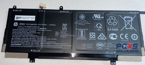 HP Battery 4C 61Wh 3.99Ah LI SP0406XL-PL HP SPECTRE X360 CONVERTIBLE 13T-AP - L28764-005