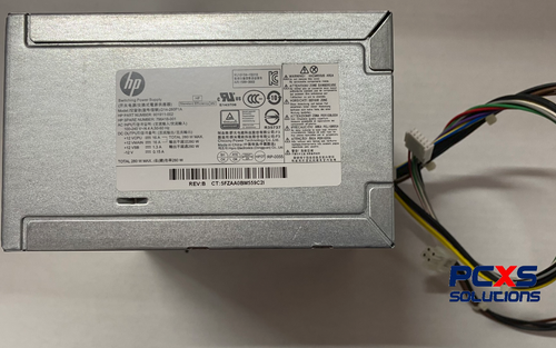 HP Power supply - Rated at 280W output, standard energy efficient, 12VDC output - Prodesk 600 G2 MT / Elitedesk 800 G2 - 796418-001