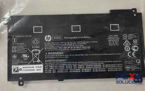 HP ASSY-BATT 3C 48Wh 4.21Ah LI RU03048XL-PR  HP ProBook x360 11 G4 - L12791-855
