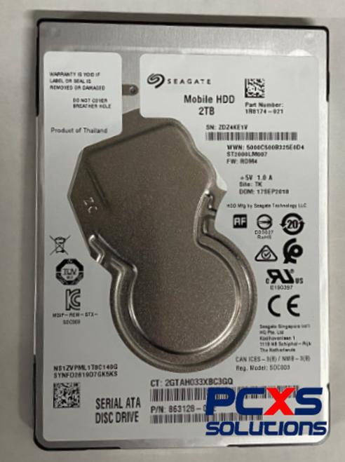 HP ST2000LM007 2TB 5400RPM 7MM hard disk drive - 863128-002