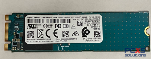 HP 256GB SSD M.2 PCIe 3.0 x4 NVMe SOLID STATE DRIVE - L22028-002