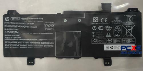 HP SPS-BATT 2C 47Wh 6.15Ah LI GB02047XL-PL HP CHROMEBOOK 11G7 / Chromebook x360 11 G2  - L42583-005