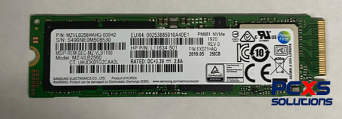 HP SPS-SSD 256GB PCIE NVME TLC - L11634-501