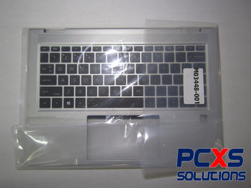 HP SPS-TOP COVER NO 2CAM W/KB CP SR US  HP PROBOOK X360 435 G7 - M03448-001