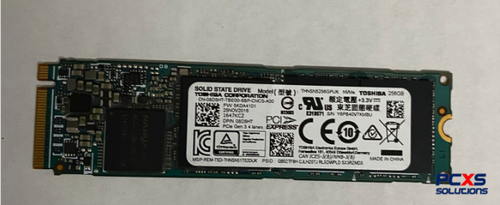 Toshiba OCZ RD400 Series Solid State Drive PCIe NVMe M.2 256GB with MLC Flash - 08D5HT