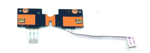 Touchpad button board - Includes bracket and connector cables - 813954-001